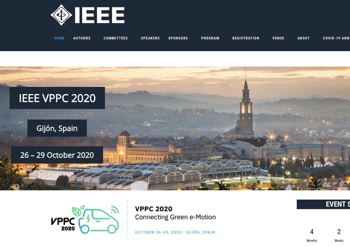 Presentación congreso VPPC'20 (noticia televisión)