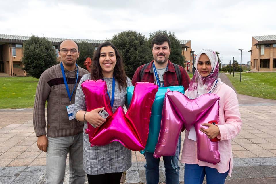 Exposición Islam El-Sayed, Nour Mousa y Komal Khan