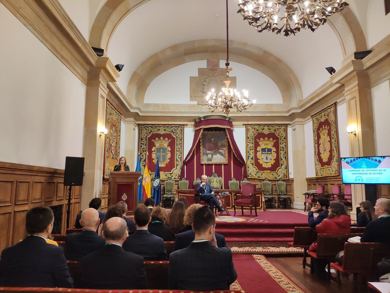 I Jornada de Cátedras de la Universidad de Oviedo