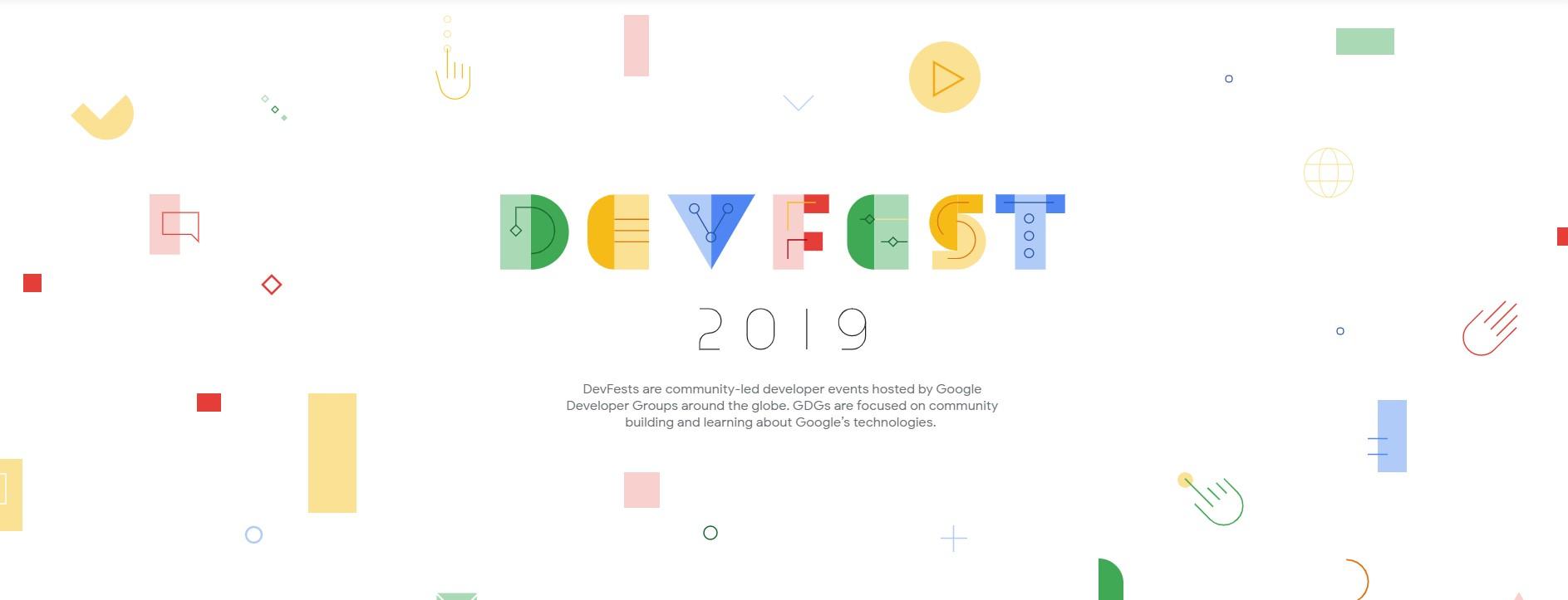 Participación en Google Developers Fest 2019