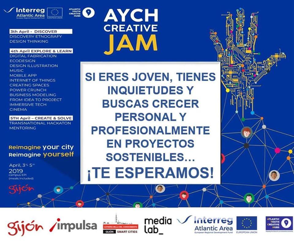 Creative Jam: reimagine your city, reimagine yourself
