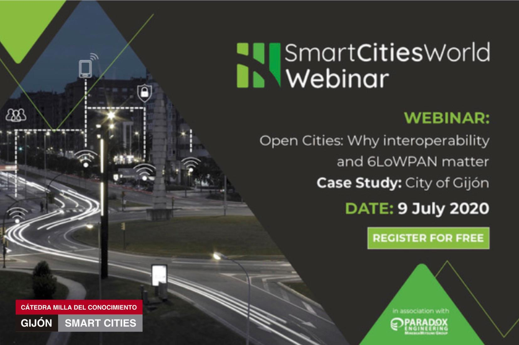 Webinar | «OpenCities: Why interoperability and 6LowPan matter»